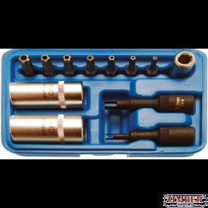 Trusa speciala pentru ventile de aer conditionat, 12 piese (2275) - BGS technic