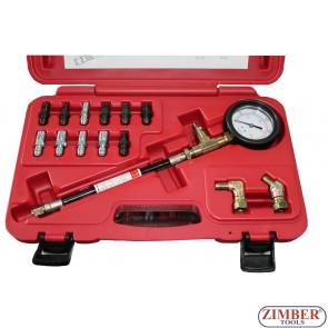 Tester pentru masurat presiune pompa frana si pompa ambreaj - ZIMBER-TOOLS