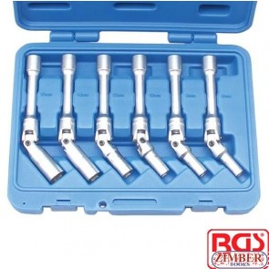 Set chei pentru bujii incandescente(extra lungi) 8-mm-9-10-12-14-16mm x 150mm- 2986 - BGS