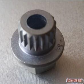 Tubulara speciale pentru antifurt roti BMW / MINI 34 / 18 Spline - ZIMBER TOOLS
