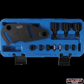 Set cale blocare distributie pentru motoare Renault 1.8 si 2.0 16V, OEM MOT 1509-01, 1509 Laguna II, Clio II, Scenic (8577) - BGS technic.