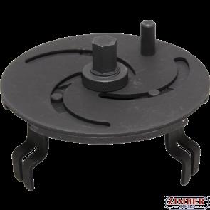 Cheie universala pentru demontat capacul superior de la rezervoare- dimensiuni 89-170 mm, ZR-36FTLR170 - ZIMBER TOOLS