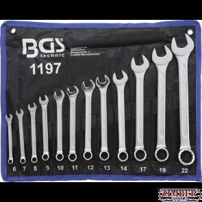 Set combinate 6-22mm,12piese. 1197- BGS technic.