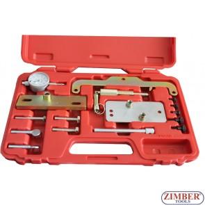 Set fixare distributie  Diesel  Opel ,Isuzu, Fiat 1.7L X17DTL, 17DR, Z17DT, Y17DT - ZIMBER