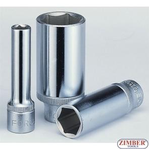 "Cheie tubulara lunga 1/2"", 25 -mm  (6- pereti) -  5457725 - FORCE"