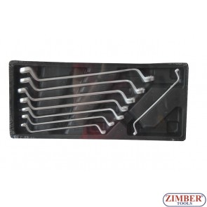Set 8chei inelare cotite (6-22mm), ZT-00822 - SMANN TOOLS