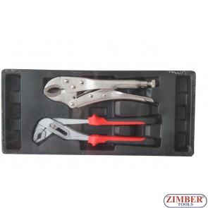 "Locking plier & 250mm-10"" Water pump plier, 250mm-10"" - SMANN TOOLS"