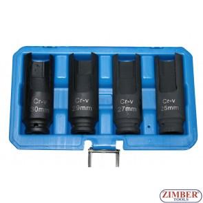 Set tubulare speciale pentru injectoare 25 mm-27 mm-29 mm-30mm - ZT-04A3066 - SMANN TOOLS.