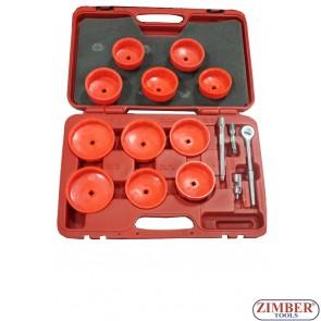 Trusa Tubulare Filtru de Ulei 16 buc, ZR-36OFW16 - ZIMBER TOOLS.