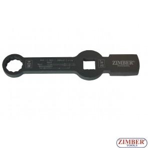 Cheie inelara M24 impact pentru etrier camioane SAF 12 Point - ZR-36BWM24 - ZIMBER TOOLS