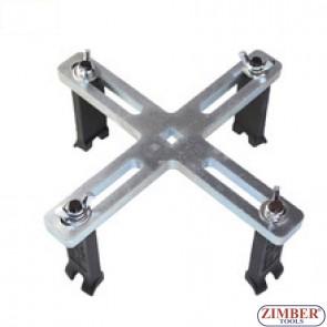 Cheie universala pentru demontat capacul superior de la rezervoare de combustibil Mercedes-Benz, BMW, Audi, Volkswagen, Toyota, Honda, Wuling, Hyundai - ZT-04A3077 - SMANN SCULE