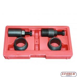 Set prese pentru fulii pompa de injectie pentru motoare BMW, Land Rover, M47/M47TU M 57/M57TU 2.0 and 3.0 diesel - ZT-05222 - SMANN TOOLS.