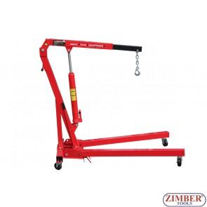 "Macara hidraulica tip ""girafa"" 1t. - ZT-04F0024 - SMANN TOOLS."