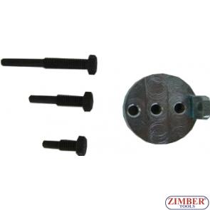 Set universal cu dispozitive speciale pentru montat curele elastice de accesorii BMW / Chrysler / Citroen / Fiat / Ford / Iveco / Mazda / Mercedes / Peugeot / Volvo,4pcs - ZR-36MTSFMRB - ZIMBER TOOLS