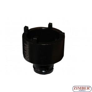 Tubulara speciala cu 4 dinti in exterior, 33mm- ZT-04B1081-33 - SMANN TOOLS.