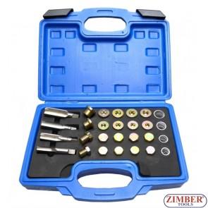 oil-pan-thread-repair-set-64pc-plus-washers-chrome-vanadium-taps-m13-m15-m17-m20-zt-04a5037-smann-tools