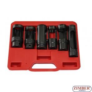 Trusa de tubulare pentru injectoare diesel 6 Buc. - ZIMBER