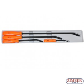 Set Leviere din OTEL CALIT 200-300-455-610.mm 4.buc ZR-36PBS04 - ZIMBER TOOLS