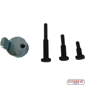 Set universal cu dispozitive speciale pentru montat curele elastice de accesorii Fiat/Ford/Lancia/Mazda/Peugeot, ZR-36MTSFMRB01 - ZIMBER TOOLS.