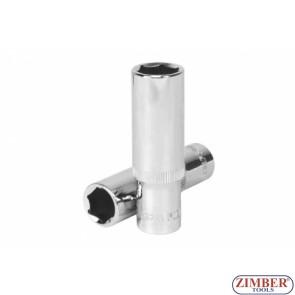 "Cheie tubulara lunga 1/2"",15 -mm  (6- pereti) - 2769 - RICO"