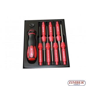 Set surubelnite electricieni 7 buc (1000V) - ZIMBER.