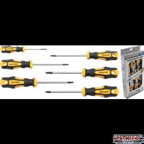 Set şurubelniţe Profil T (pentru Torx) T10 - T30 | 6 piese (35826) - BGS technic