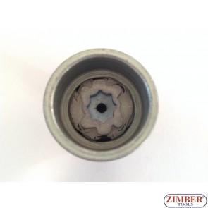Tubulara speciale pentru antifurt roti  Volkswagen, Skoda, Audi, Seat -536- ZIMBER -PROFESSIONAL