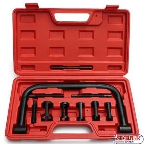 Set dispozitive presare arcuri supape 16 - 30 mm. ZT-04A2078A -SMANN TOOLS