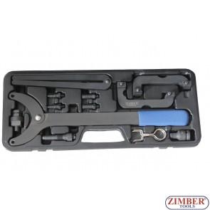 Set fixare distributie  VAG- AUDI/VW A6, A2, A4, A4 A8, A3 - - ZR-36ETTS231. - ZIMBER TOOLS