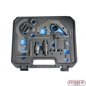 Set fixare distributie BMW, Land Rover, Rover &OPEL MG 2.0 3.0 - BMW Mini N47/N57 1.6, 2.0, 3.0. ZR-36ETTSB8601-ZIMBER TOOLS