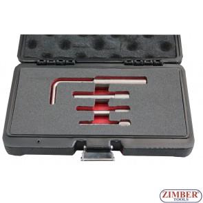 Set tije fixare ax cu came  FORD/Mazda/CITROEN,PEUGEOT 1.4 1.6 2.0 TDCI Diesel , ZT-04A2192D - SMANN TOOLS.