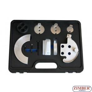 Set universal cu dispozitive speciale pentru montat curele elastice de accesorii, ZR-36MTTS11 - ZIMBER TOOLS.