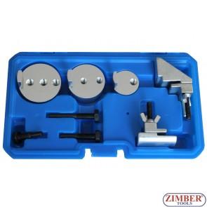 Set universal cu dispozitive speciale pentru montat curele elastice de accesorii- ZT-04A2177 - SMANN TOOLS