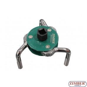 Cheie pentru filtre de ulei 65 la 120 mm, ZR-36JOFW03 - ZIMBER TOOLS