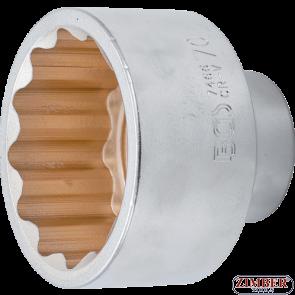 "Cheie tubulară 70 mm in 12 colțuri, 20 mm (3/4"") - 7466- BGS technic."