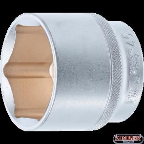 """Cheie tubulară 46 mm, antrenare 12,5 mm (1/2""""), 2946-1- BGS technic."""