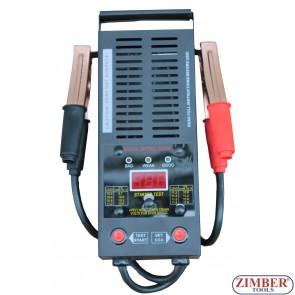 Tester Baterie-Acumlator cu Ecran DIGITAL 12V 250Ah / 1,000 CCA, ZT-04D3002 - SMANN TOOLS.