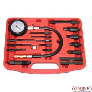 Tester compresie diesel 0 - 70 bar 16.bucati, ZK-865
