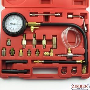 Tester presiune ulei motor si presiune pentru sistemul de alimentare  0 - 10 bar - ZT-04105A  - SMANN SCULE