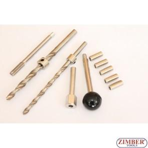 Thread Repair Kit | for Injector Fastening Screws - 6x1 - 10 pcs.- Mercedes Benz CDI - ZR-36ETTS286