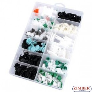 Trim Clip Assortment-audi 160pcs - ZN-4114 Neilsen