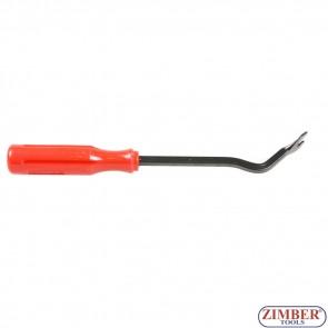 Scula pentru demontat cleme din plastic 240-mm - ZIMBER TOOLS