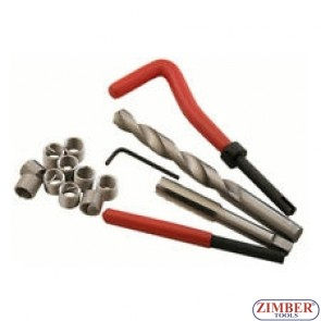 Trusă de reparat filet - M10*1.5*13.5MM, 15-buc. (ZT-04187F) - SMANN TOOLS
