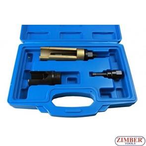 Trusa pentru extras cap injectoare Mercedes Benza CDI - Clasa C,E, Sprinter (611, 612, 613) Chrysler ,  ZT-04A3007 - SMANN TOLLS