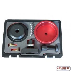 Trusa pentru montarea si demontarea simering arbore cotit BMW N40, N42, N45, N45T, N46, N46T, N52, N53, N54-ZT-04A1036D - SMANN TOOLS.