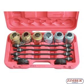 Trusă universală pentru montat, demontat rulmenți și bucșe 26buc. ZT-04803- SMANN TOOLS
