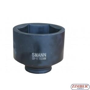 "Tubulare de IMPACT  1"" 105- mm. cu 6 pereti - ZT-01T0381 SMANN TOOLS"