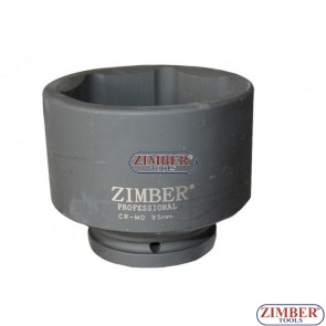 "Tubulare de IMPACT  1"" - 95mm cu 6 pereti - ZR-08IS8095M - ZIMBER-TOOLS"