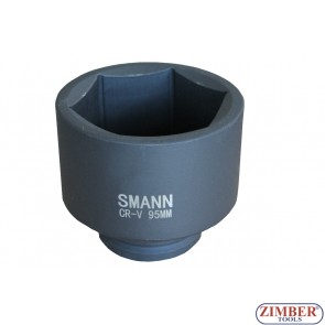 "Tubulare de IMPACT 1"" Dr. 95-mm 6 pereti - ZT-01T0386 - SMANN TOOLS."