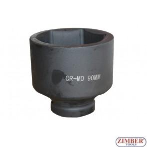 "Tubulare de IMPACT 1"" 90mm, ZT-01E6054 - SMANN TOOLS"